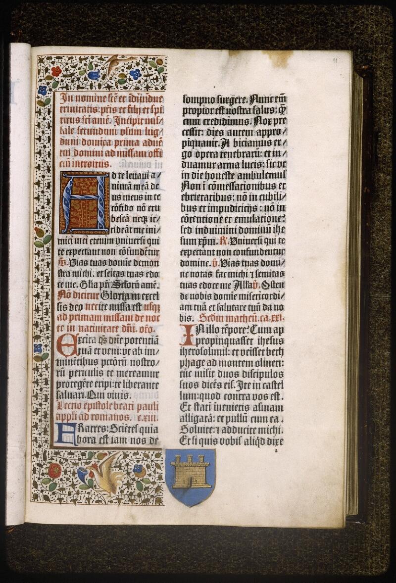Lyon, Bibl. mun., inc. 0401, f. 011 - vue 2