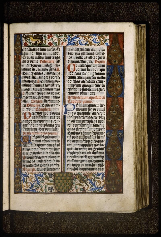 Lyon, Bibl. mun., inc. 0407, f. 183 - vue 1
