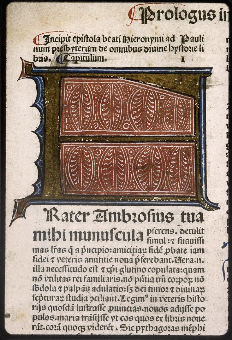 Lyon, Bibl. mun., inc. 0419, f. a 2 - vue 3