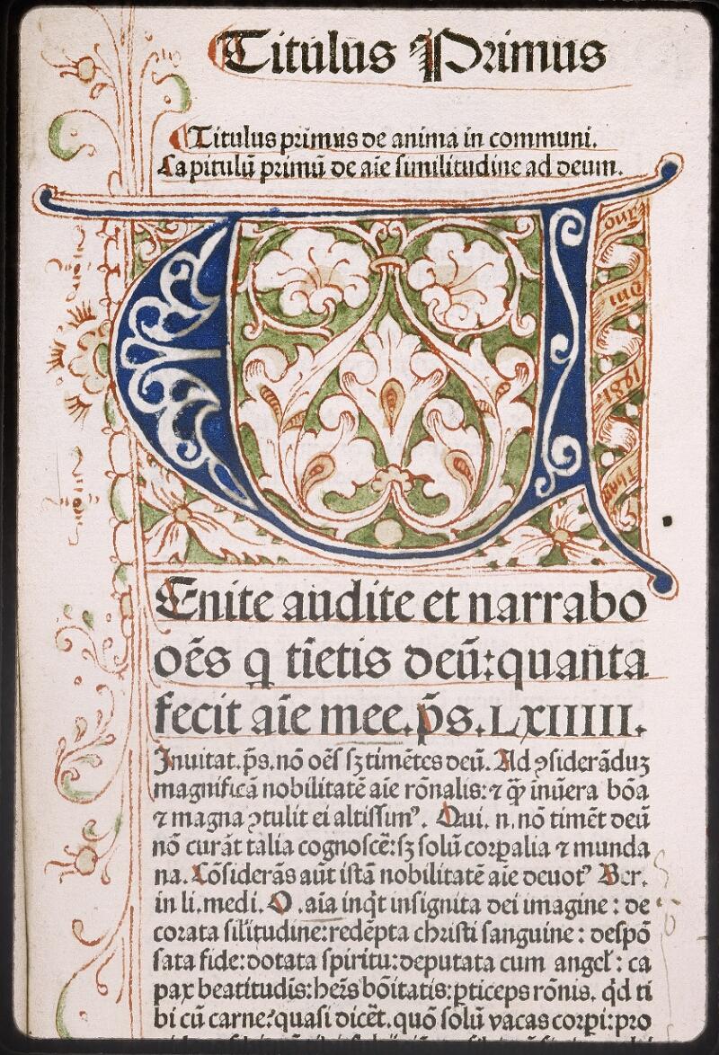 Lyon, Bibl. mun., inc. 0430, f. a 4 - vue 2