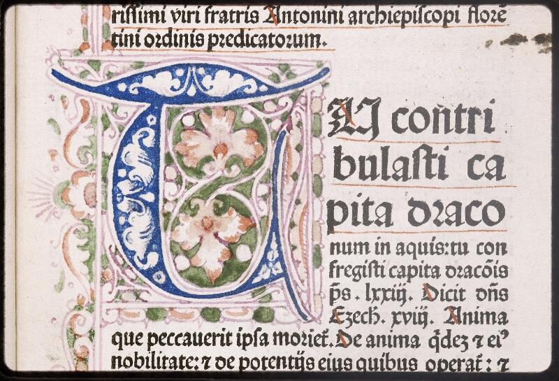 Lyon, Bibl. mun., inc. 0431, f. a 2 - vue 3