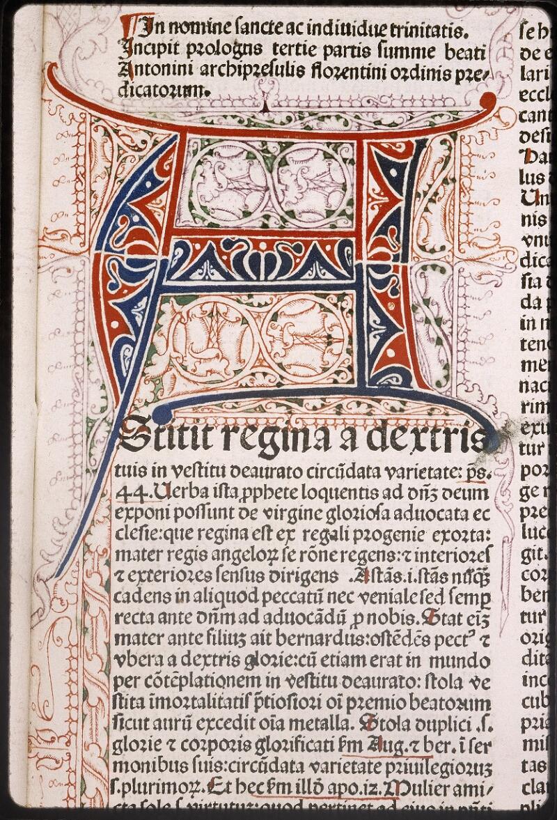 Lyon, Bibl. mun., inc. 0432, f. A 4 - vue 3