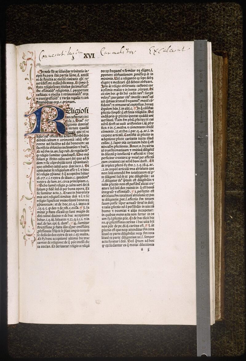 Lyon, Bibl. mun., inc. 0433, f. a 5 - vue 1