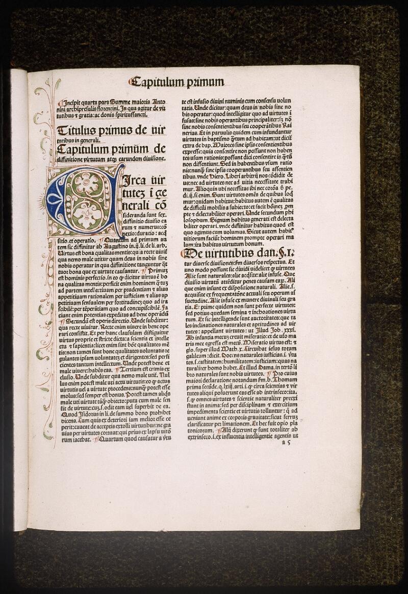 Lyon, Bibl. mun., inc. 0434, f. a 5