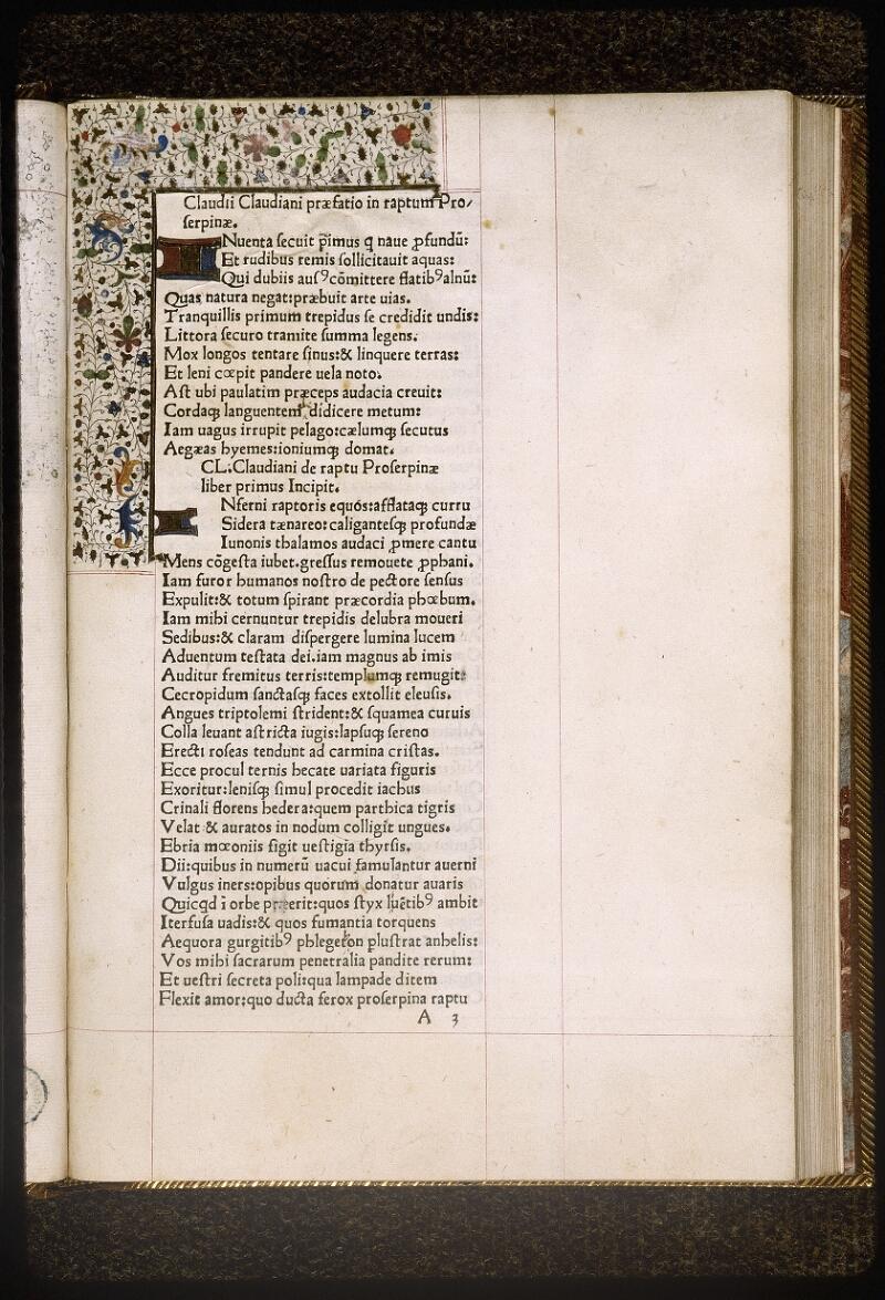 Lyon, Bibl. mun., inc. 0628, f. A 3 - vue 2