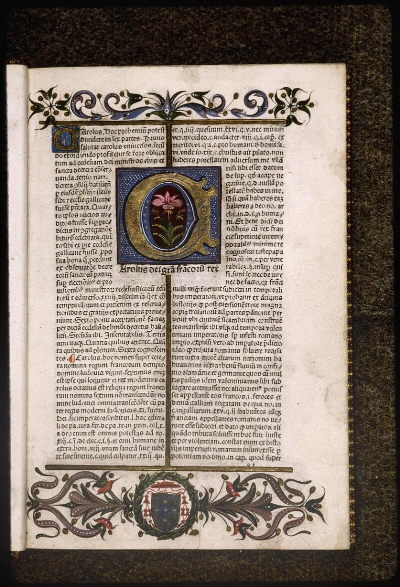 Lyon, Bibl. mun., inc. 0629, f. a 2 - vue 2