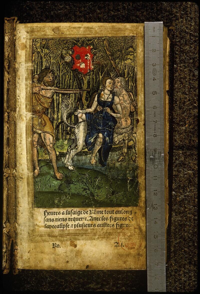 Lyon, Bibl. mun., inc. 0691, f. 001 - vue 1
