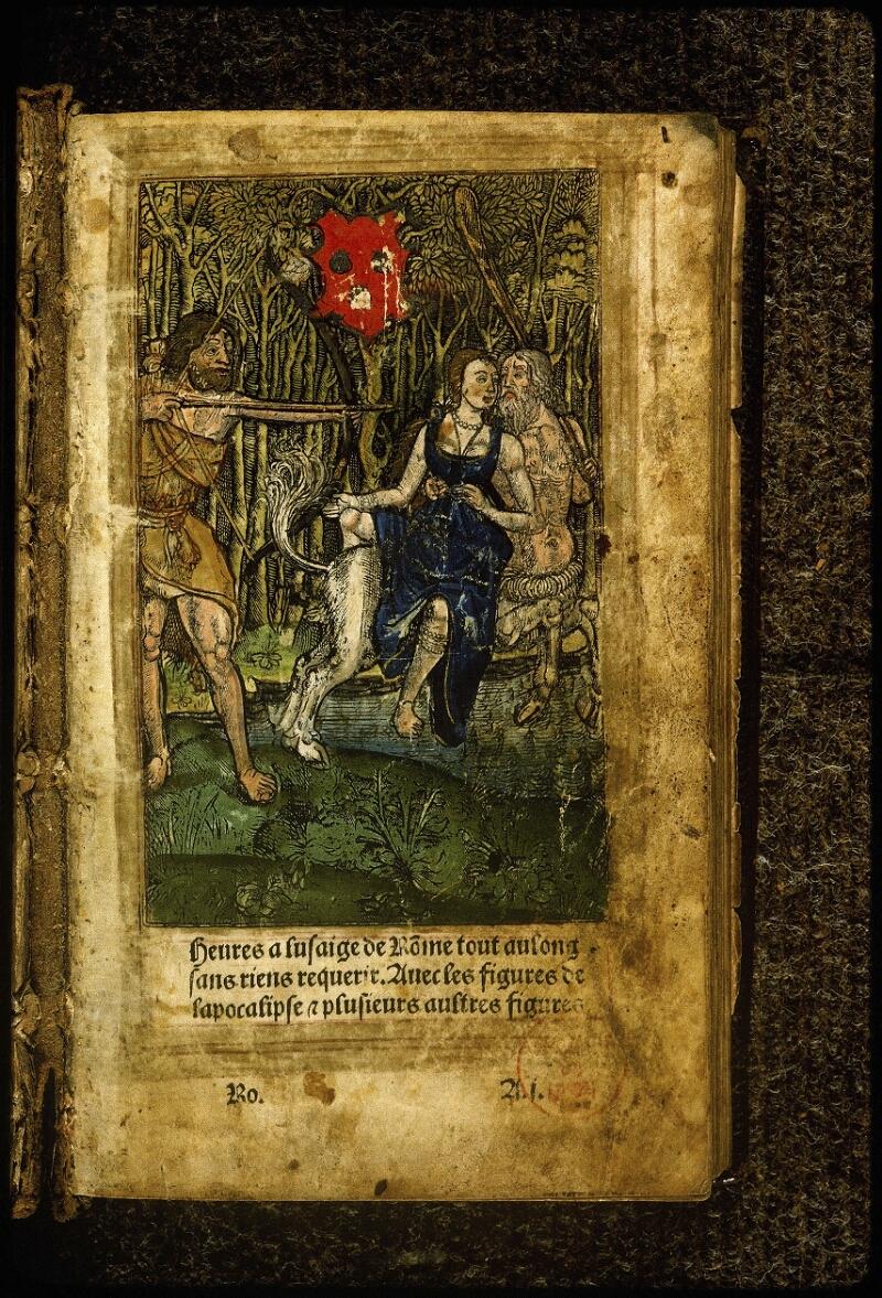 Lyon, Bibl. mun., inc. 0691, f. 001 - vue 2