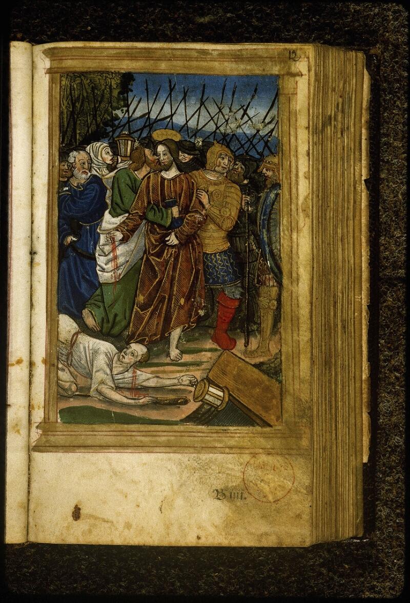 Lyon, Bibl. mun., inc. 0691, f. 012 - vue 1