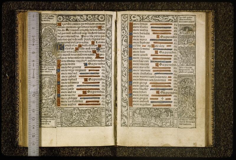 Lyon, Bibl. mun., inc. 0789, f. 057v-058 - vue 1