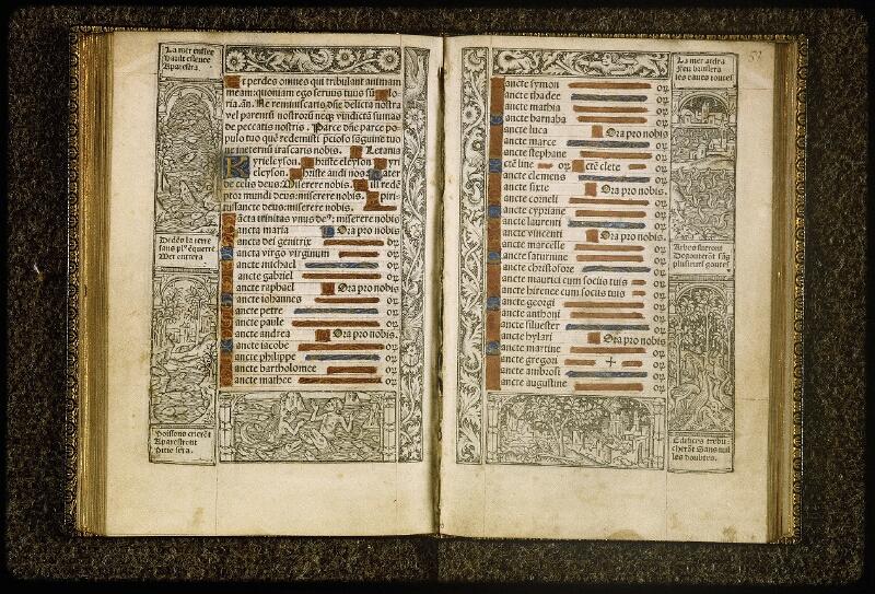 Lyon, Bibl. mun., inc. 0789, f. 057v-058 - vue 2