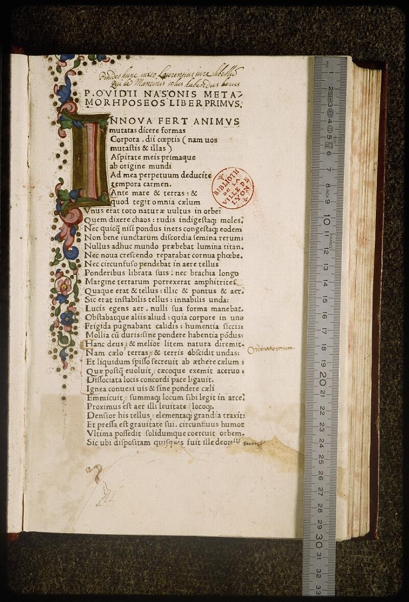 Lyon, Bibl. mun., inc. 0819, f. 006 - vue 1