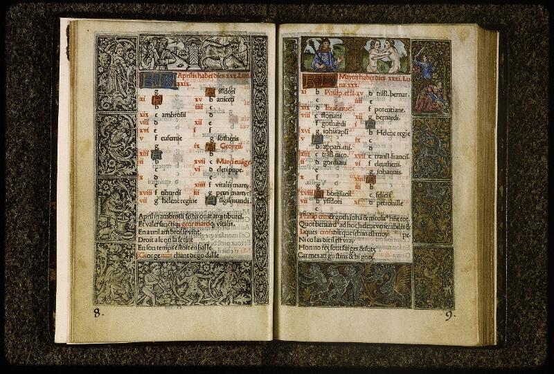 Lyon, Bibl. mun., inc. 0849, p. 008-009