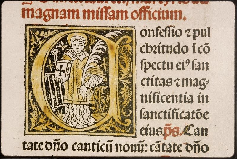 Lyon, Bibl. mun., inc. 0921, f. 200