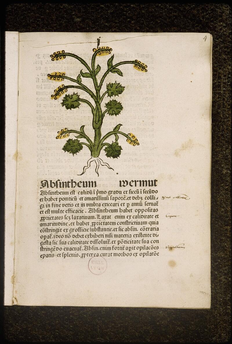 Lyon, Bibl. mun., inc. 0960, f. 004 - vue 2