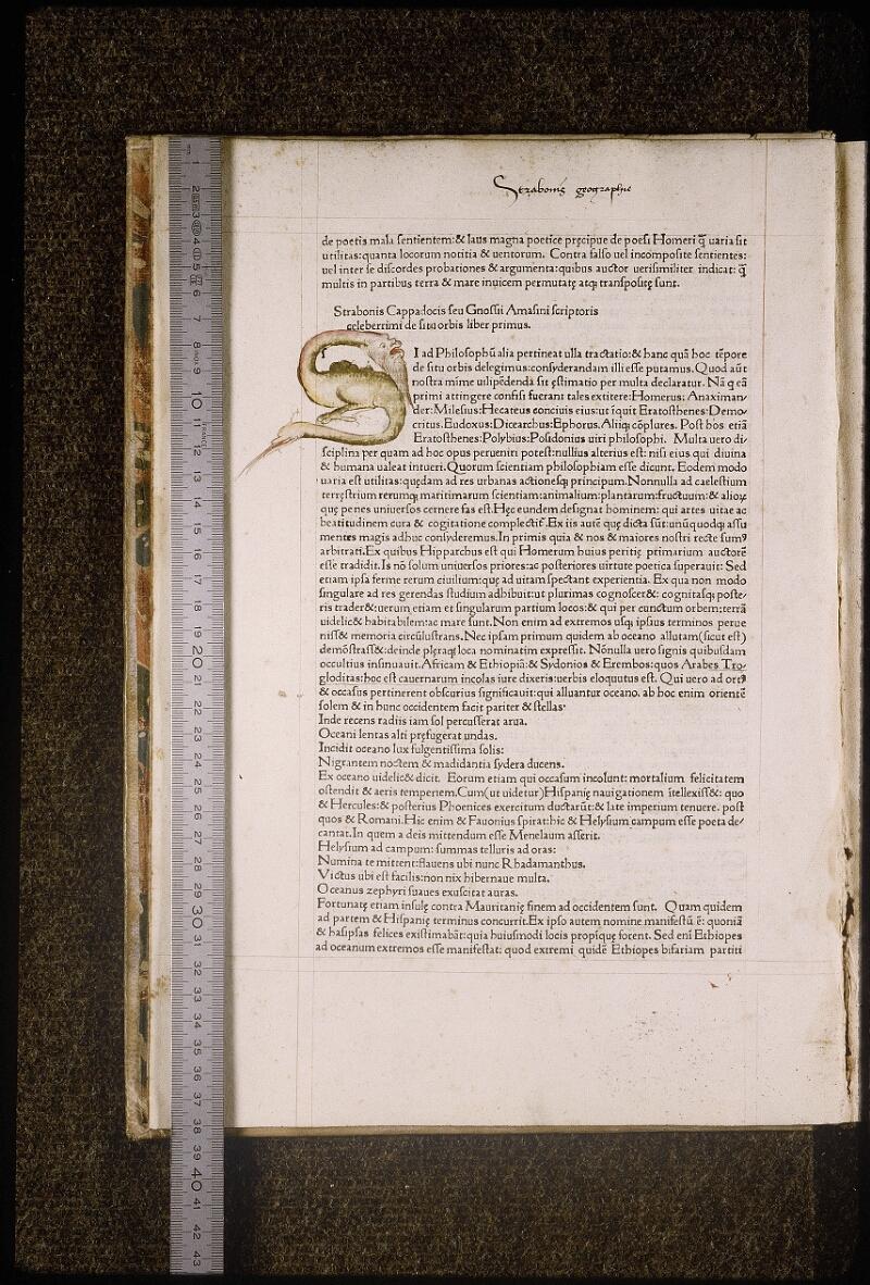 Lyon, Bibl. mun., inc. 1032, f. 004v - vue 1
