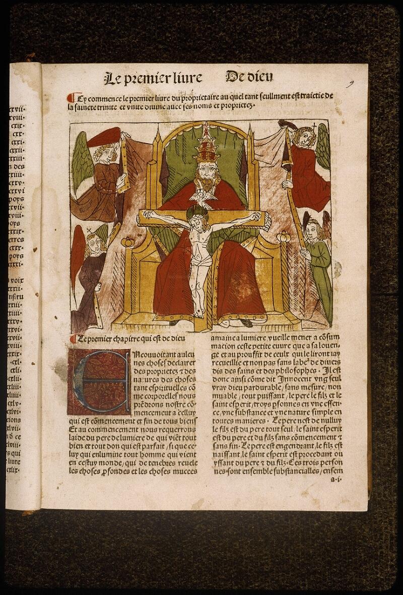 Lyon, Bibl. mun., inc. 1042, f. 009 - vue 1