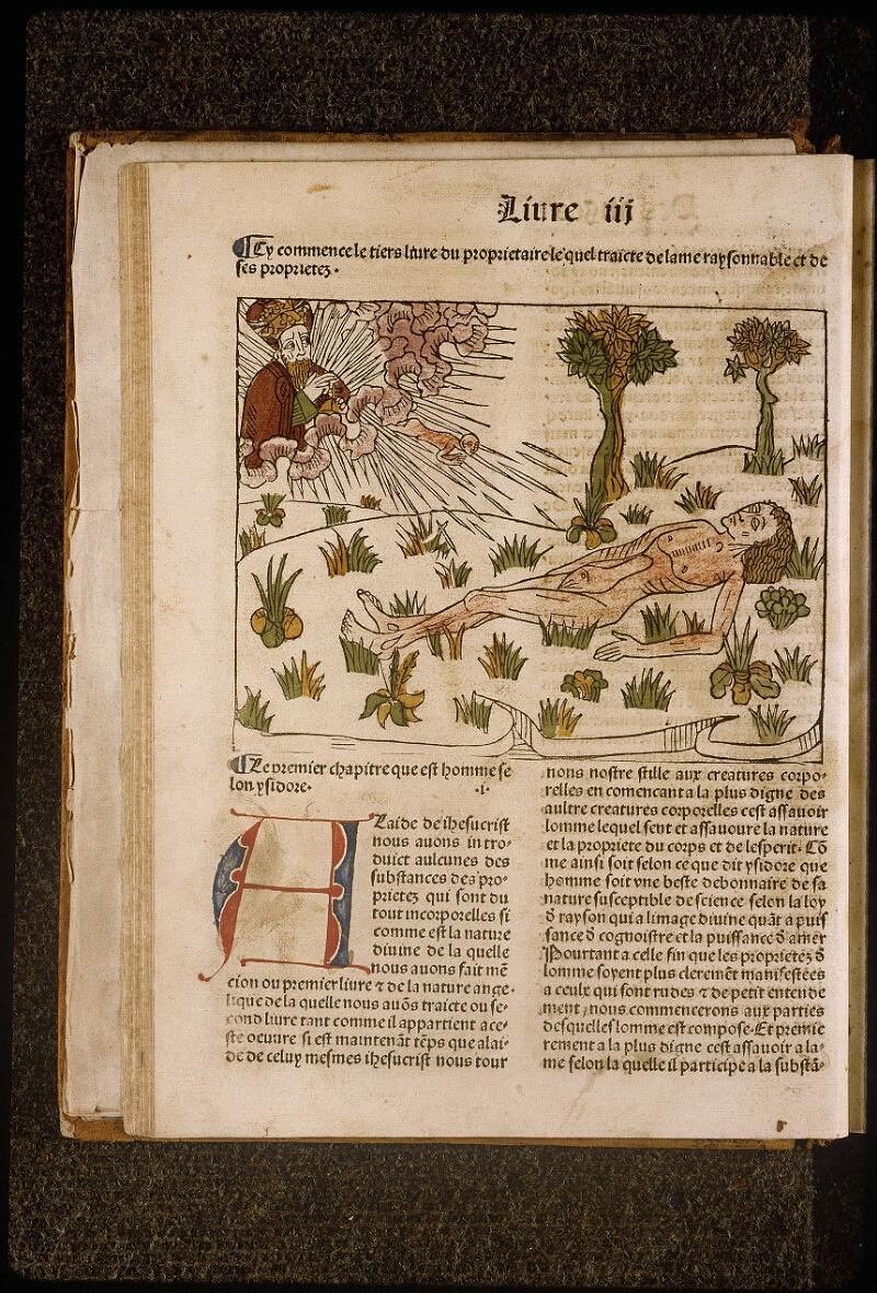 Lyon, Bibl. mun., inc. 1042, f. 024v - vue 1