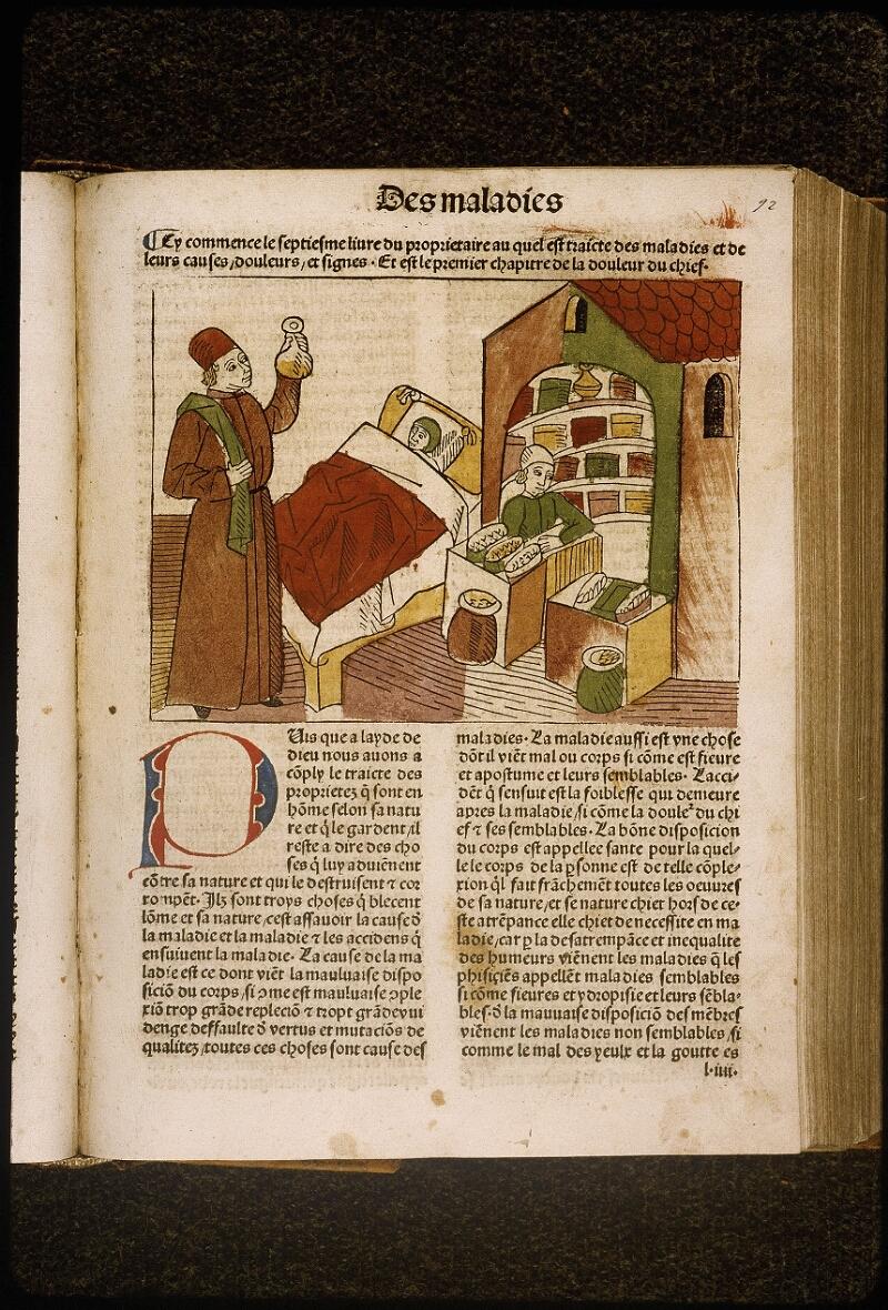 Lyon, Bibl. mun., inc. 1042, f. 092 - vue 1