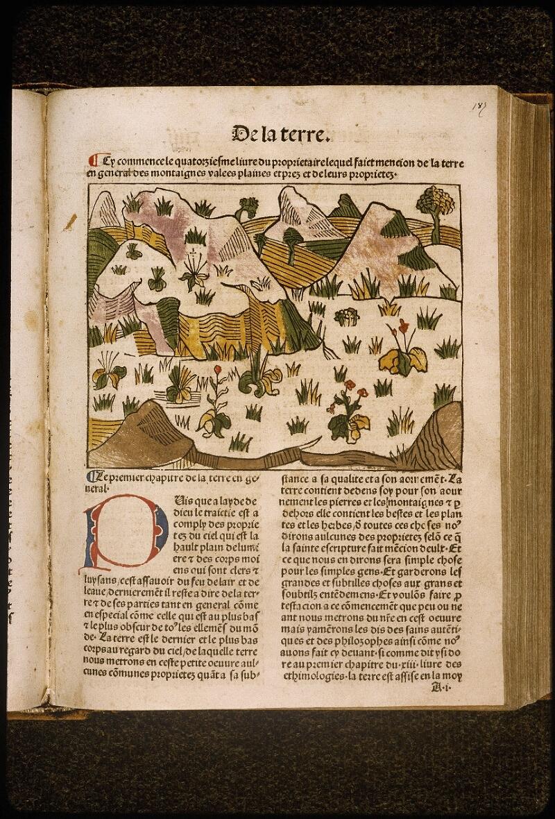 Lyon, Bibl. mun., inc. 1042, f. 187 - vue 1