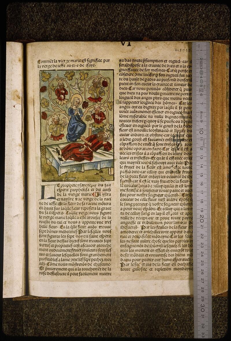 Lyon, Bibl. mun., inc. 1043, f. 340 - vue 1