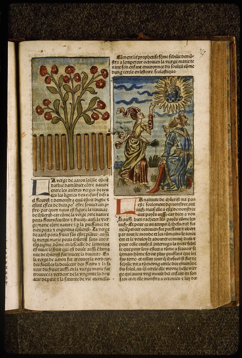 Lyon, Bibl. mun., inc. 1043, f. 349 - vue 1