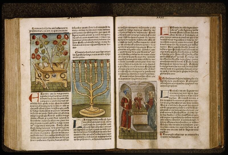 Lyon, Bibl. mun., inc. 1043, f. 360v-361 - vue 1