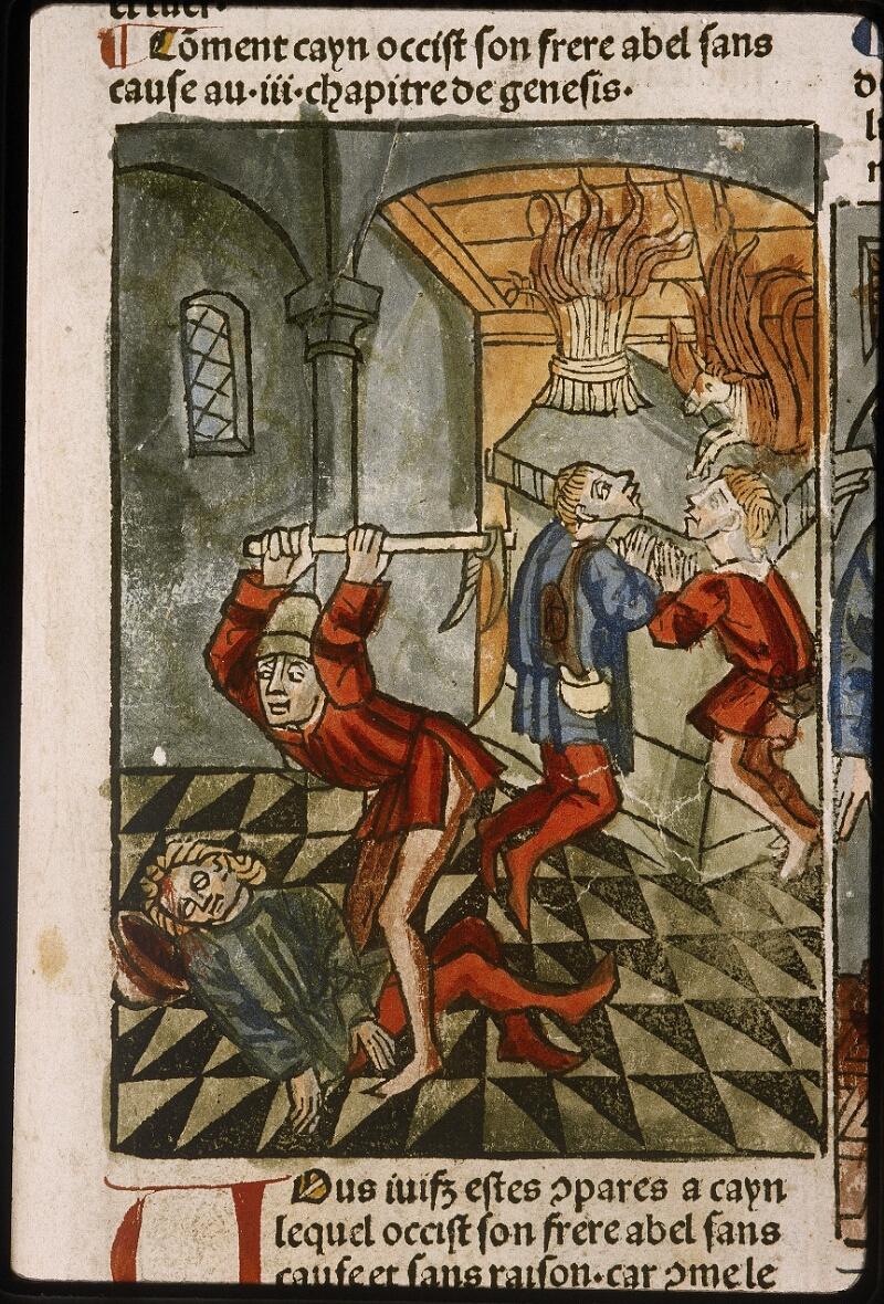Lyon, Bibl. mun., inc. 1043, f. 418 - vue 1