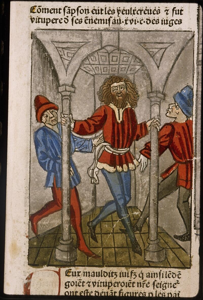 Lyon, Bibl. mun., inc. 1043, f. 419 - vue 1