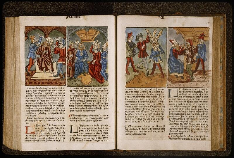 Lyon, Bibl. mun., inc. 1043, f. 420v-421