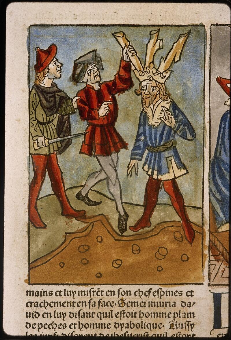Lyon, Bibl. mun., inc. 1043, f. 421 - vue 1