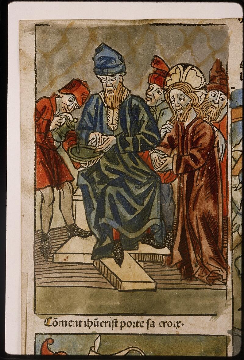 Lyon, Bibl. mun., inc. 1043, f. 421v - vue 1