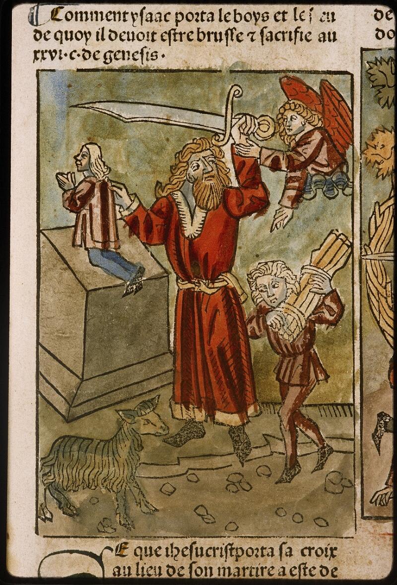 Lyon, Bibl. mun., inc. 1043, f. 422 - vue 1