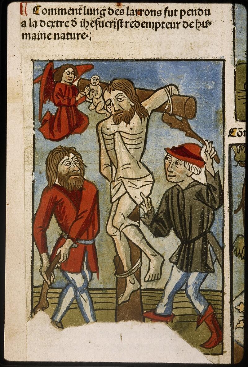 Lyon, Bibl. mun., inc. 1043, f. 424v - vue 1