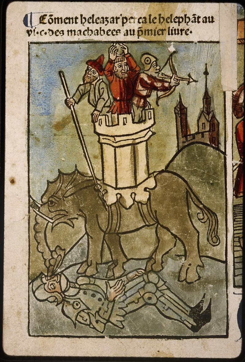 Lyon, Bibl. mun., inc. 1043, f. 425v - vue 1