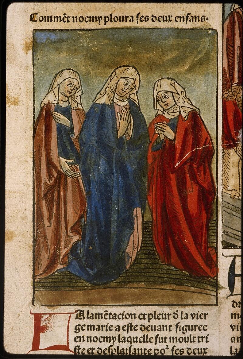 Lyon, Bibl. mun., inc. 1043, f. 427v - vue 1