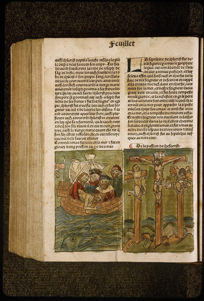 Lyon, Bibl. mun., inc. 1043, f. 428v - vue 1