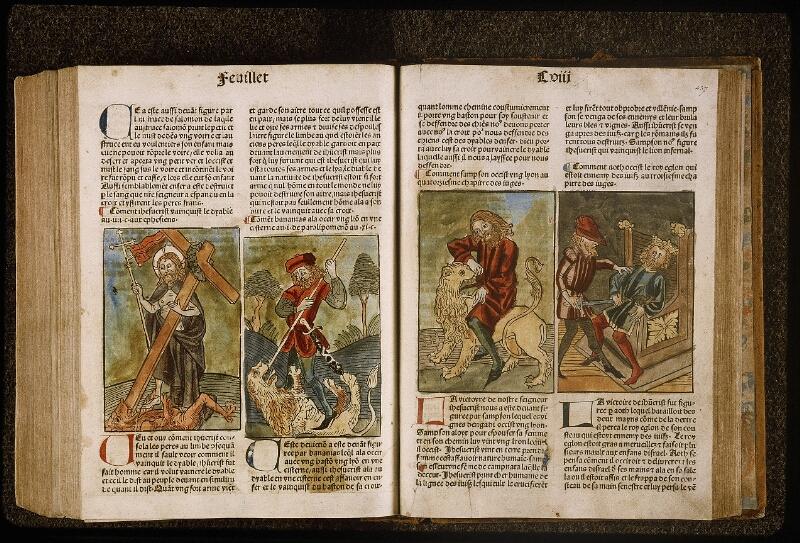 Lyon, Bibl. mun., inc. 1043, f. 436v-437