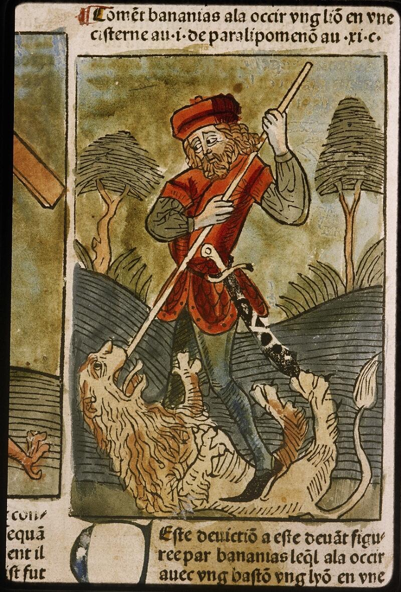 Lyon, Bibl. mun., inc. 1043, f. 436v - vue 2