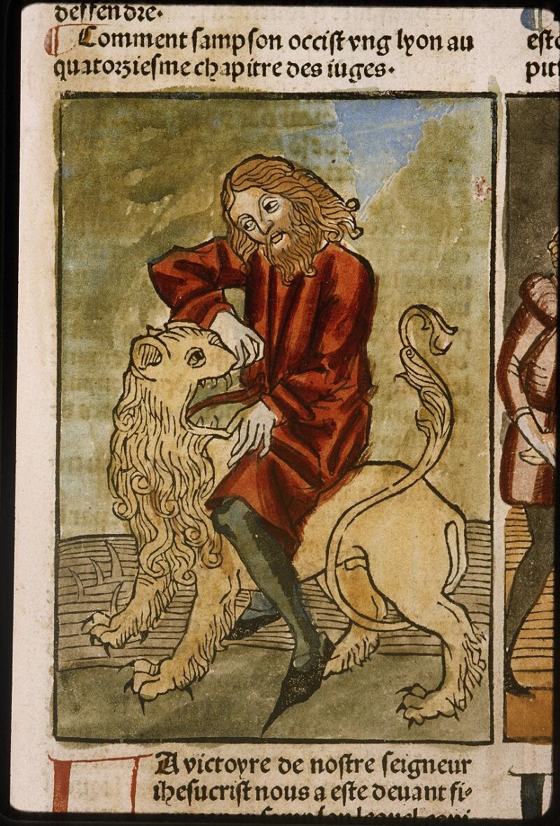Lyon, Bibl. mun., inc. 1043, f. 437 - vue 1