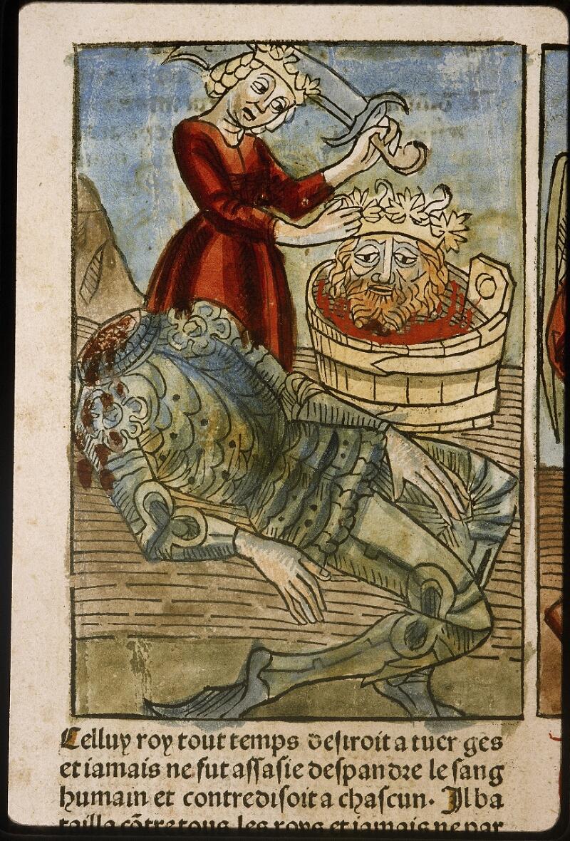 Lyon, Bibl. mun., inc. 1043, f. 438v - vue 1