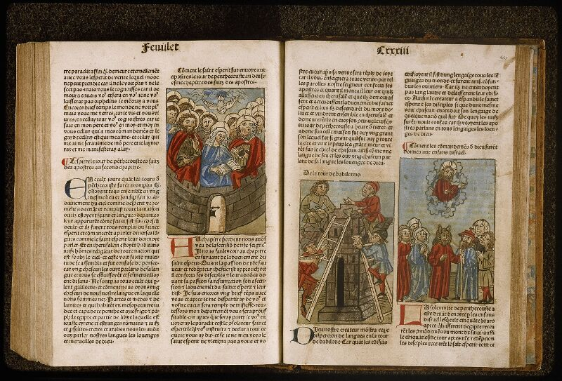 Lyon, Bibl. mun., inc. 1043, f. 460v-461