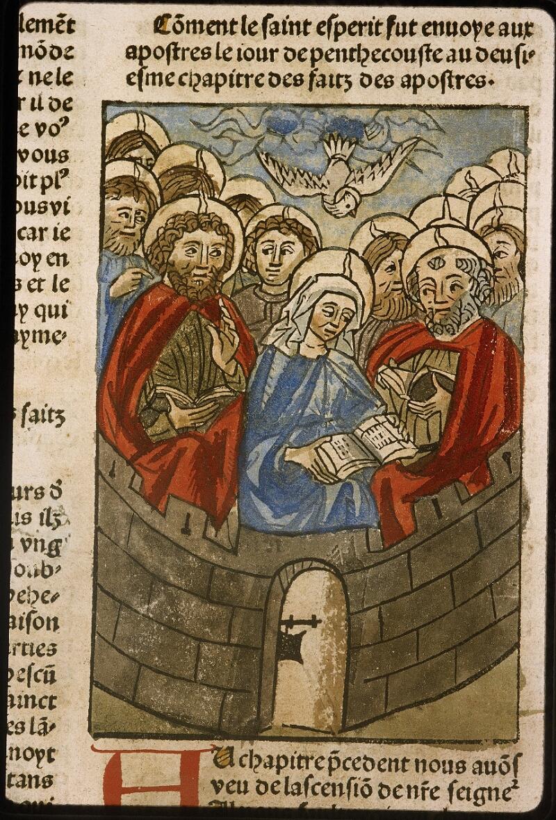 Lyon, Bibl. mun., inc. 1043, f. 460v