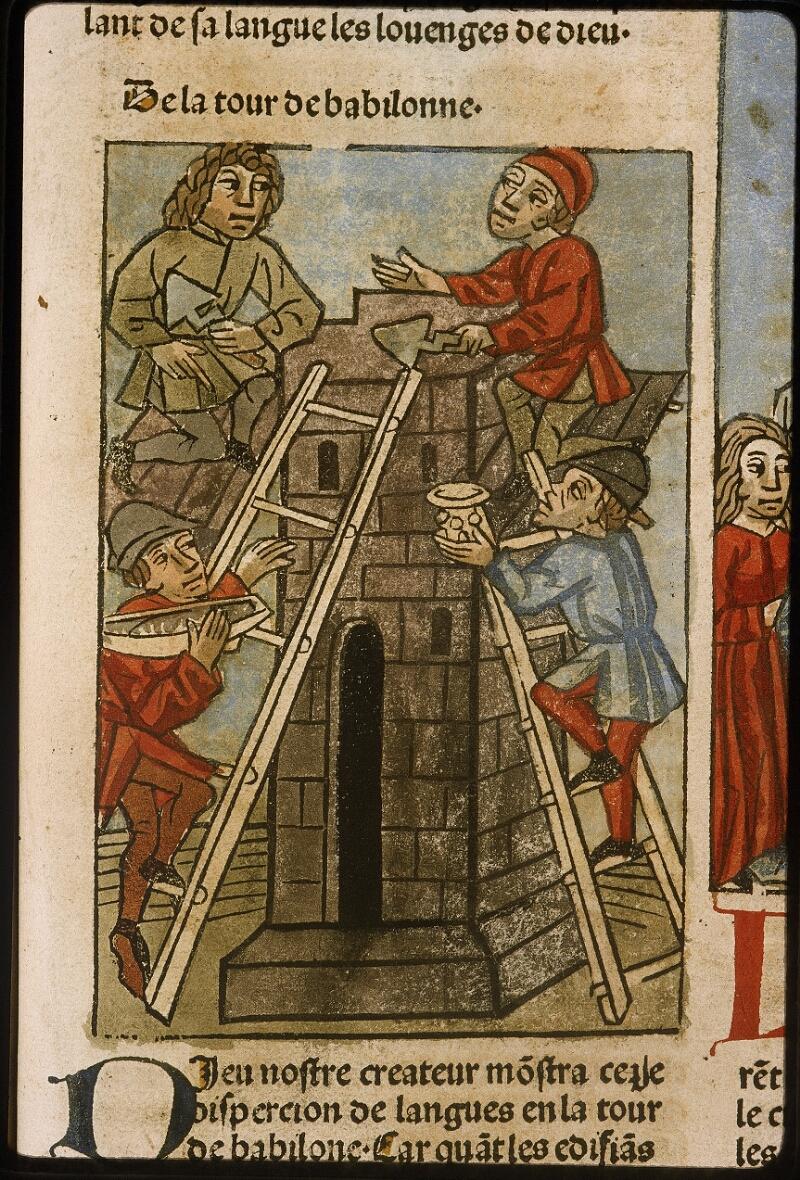 Lyon, Bibl. mun., inc. 1043, f. 461 - vue 1