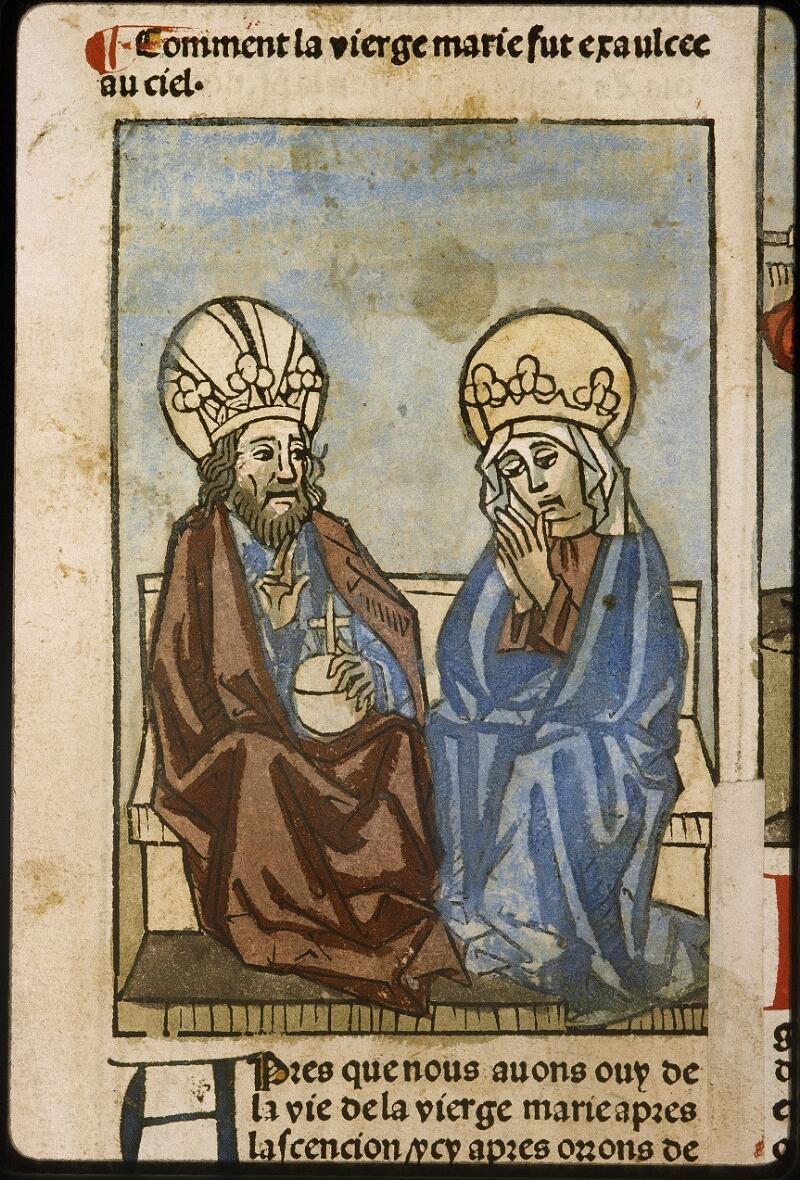 Lyon, Bibl. mun., inc. 1043, f. 470v - vue 1