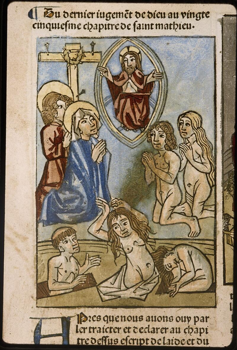 Lyon, Bibl. mun., inc. 1043, f. 477v - vue 1