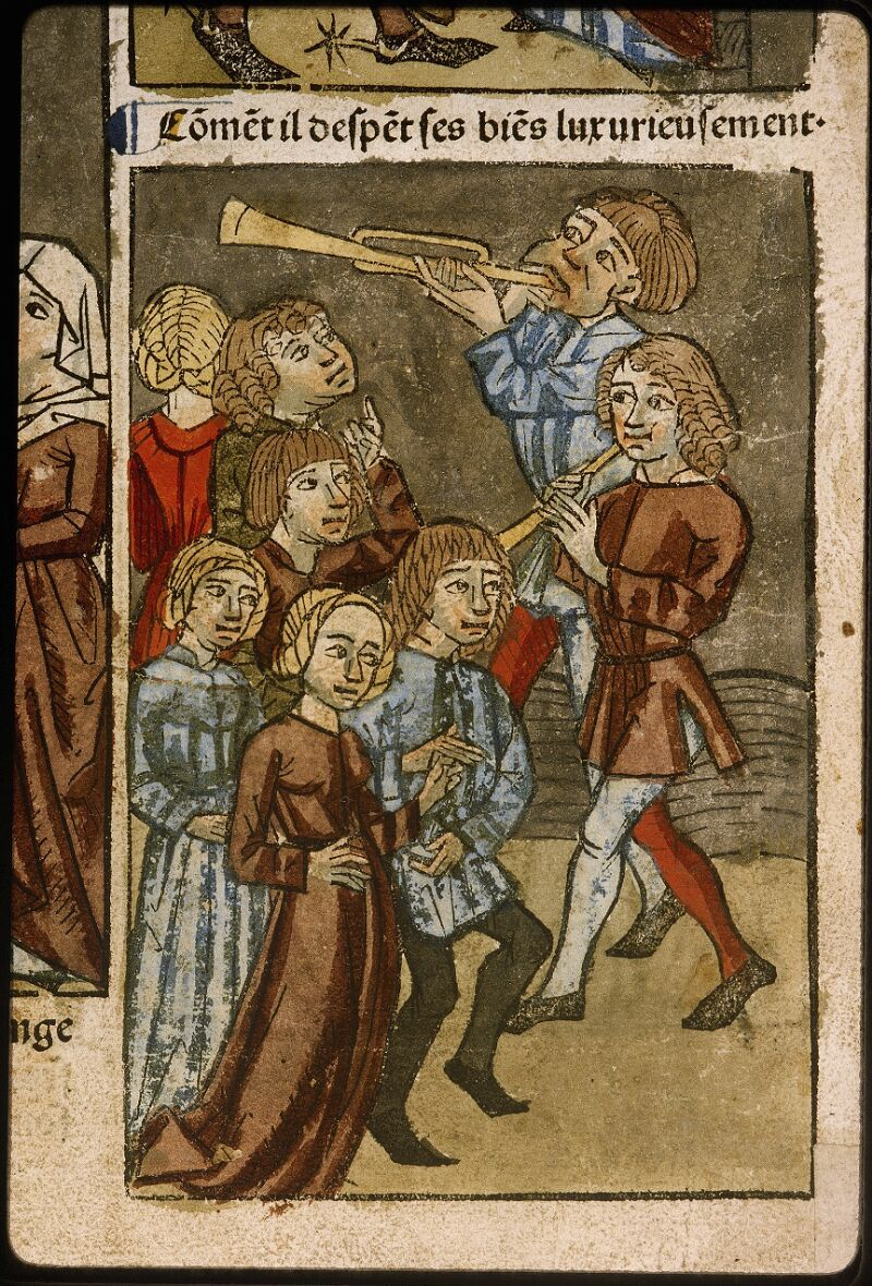 Lyon, Bibl. mun., inc. 1043, f. 481v - vue 3