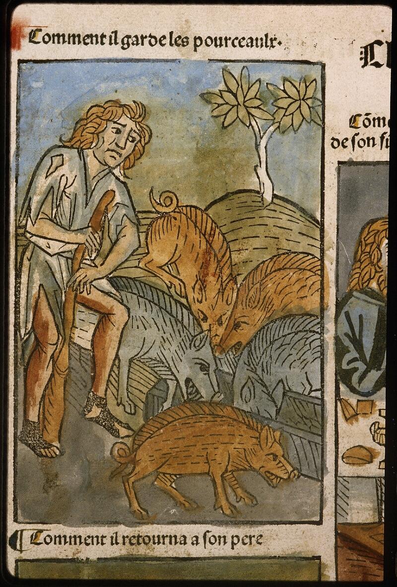 Lyon, Bibl. mun., inc. 1043, f. 482 - vue 1