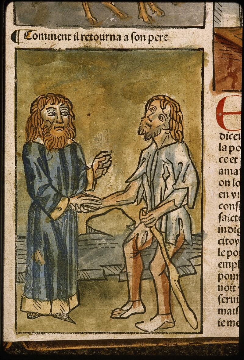 Lyon, Bibl. mun., inc. 1043, f. 482 - vue 2