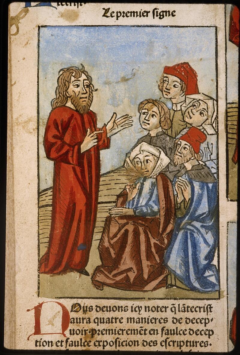 Lyon, Bibl. mun., inc. 1043, f. 486v - vue 1